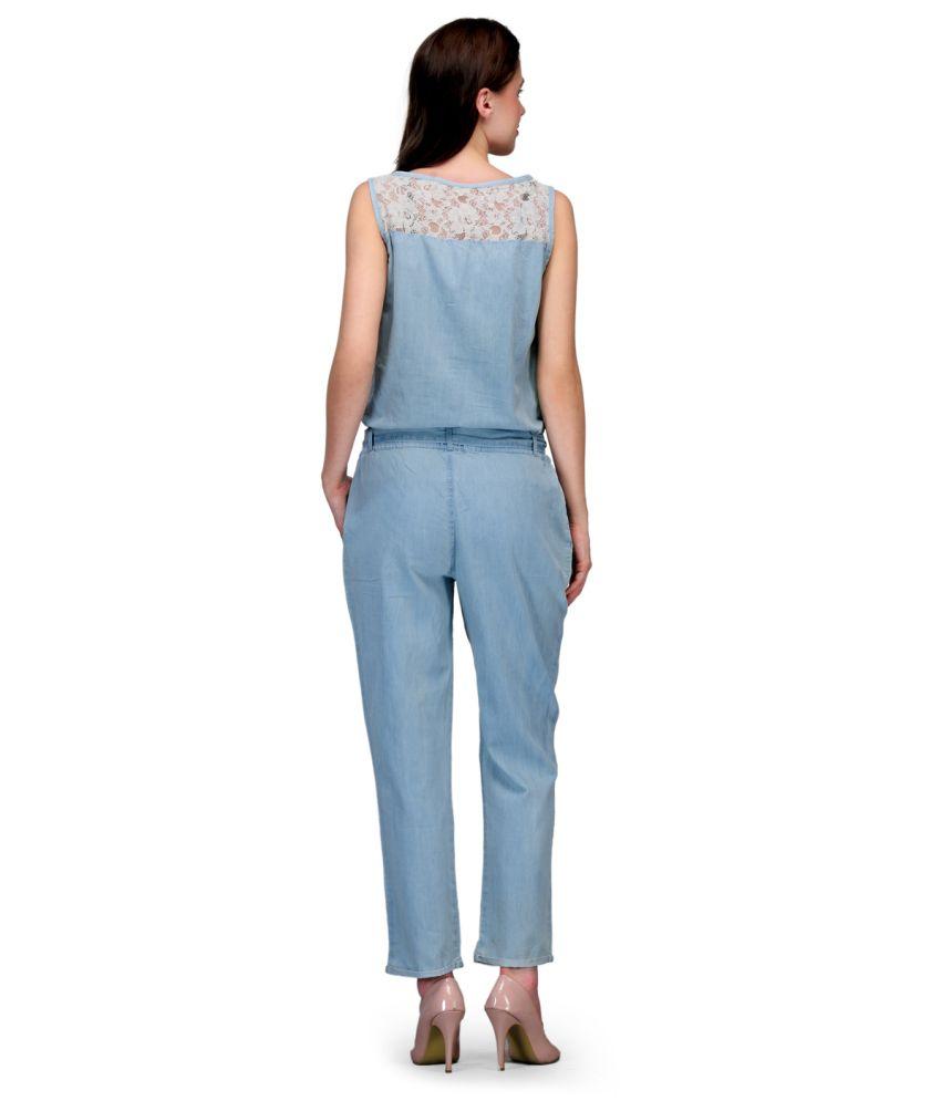 Buy denim jumpsuits online breeze clothing for Buy denim shirts online