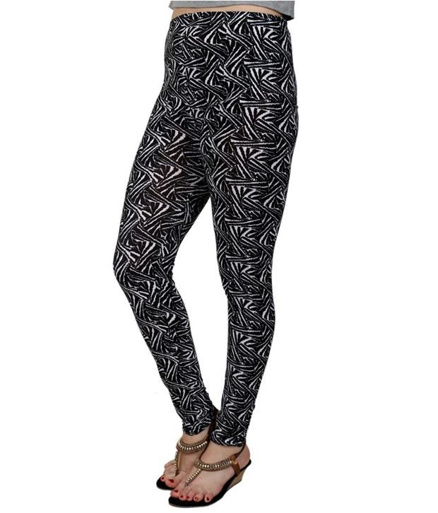 Multicolor Printed Leggings for Women Price in India - Buy ...
