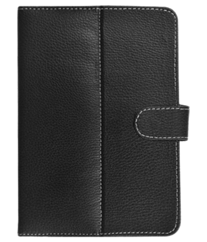 Fastway Flip Cover For Micromax Funbook Talk P362 - Black