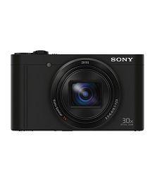 Sony Cybershot WX500 18.2 MP Digital Camera - Black