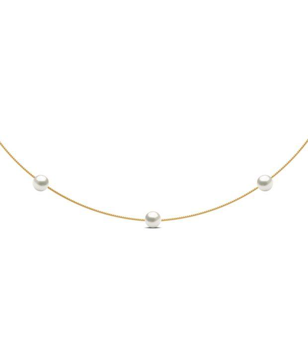 Caratlane 18Kt Hallmarked Contemporary Necklace