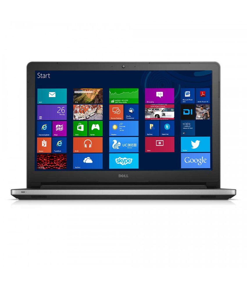 Dell Inspiron 15 3542 Notebook (4th Gen Intel Core i3- 4GB RAM- 500GB HDD- 39.62cm (15.6)- Windows 8.1) (Silver)