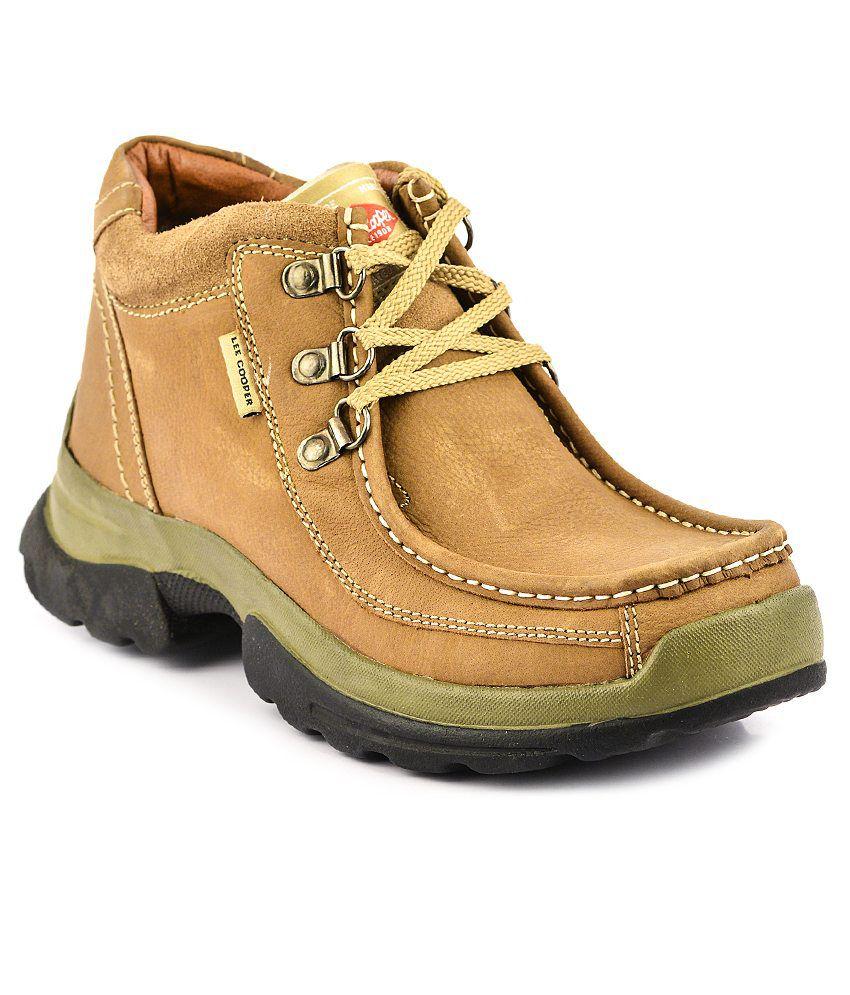Lee Cooper Brown Casual Shoes - Buy Lee Cooper Brown ...