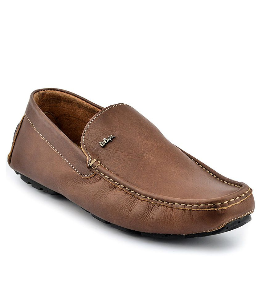 209f410ef2 Lee Cooper Brown Loafers - Buy Lee Cooper Brown Loafers Online at Best  Prices in India on Snapdeal