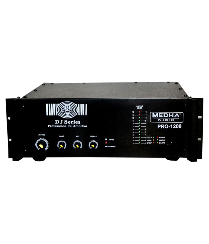 Medha Professional 1200 Watt High Power Mosfet Dj Amplifier 22 Audio