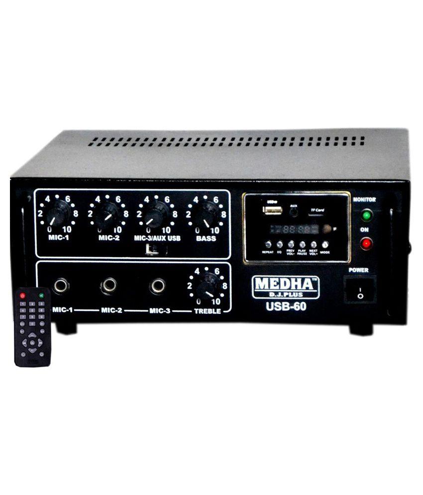 Medha Professional 60 Watt Dj Sound Power Amplifier With