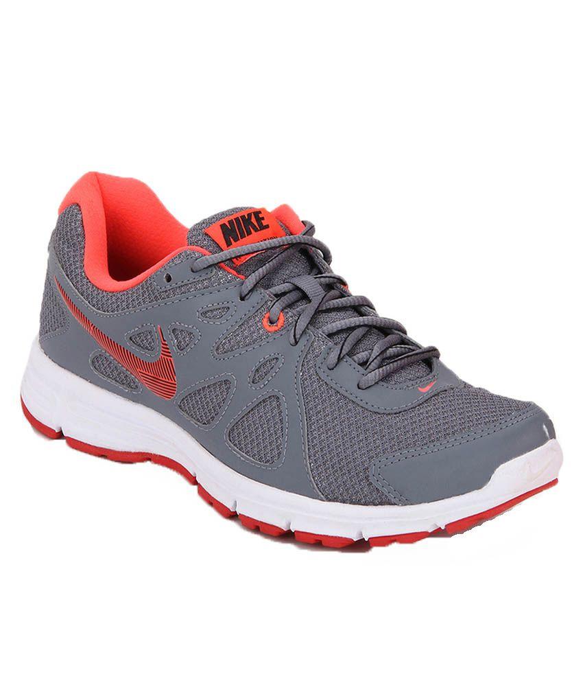 Nike Revolution 2 Msl Grey Running Shoes