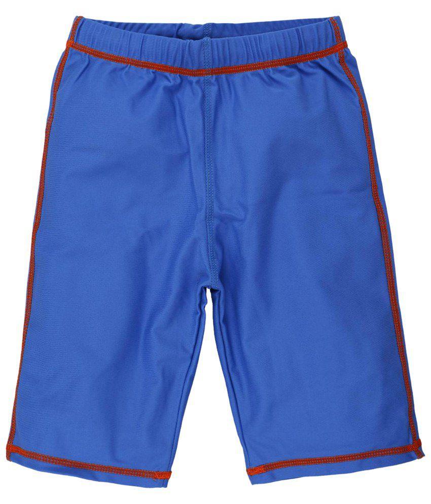 Oye Aqua Blue Swimming Shorts for Boys/ Swimming Costume
