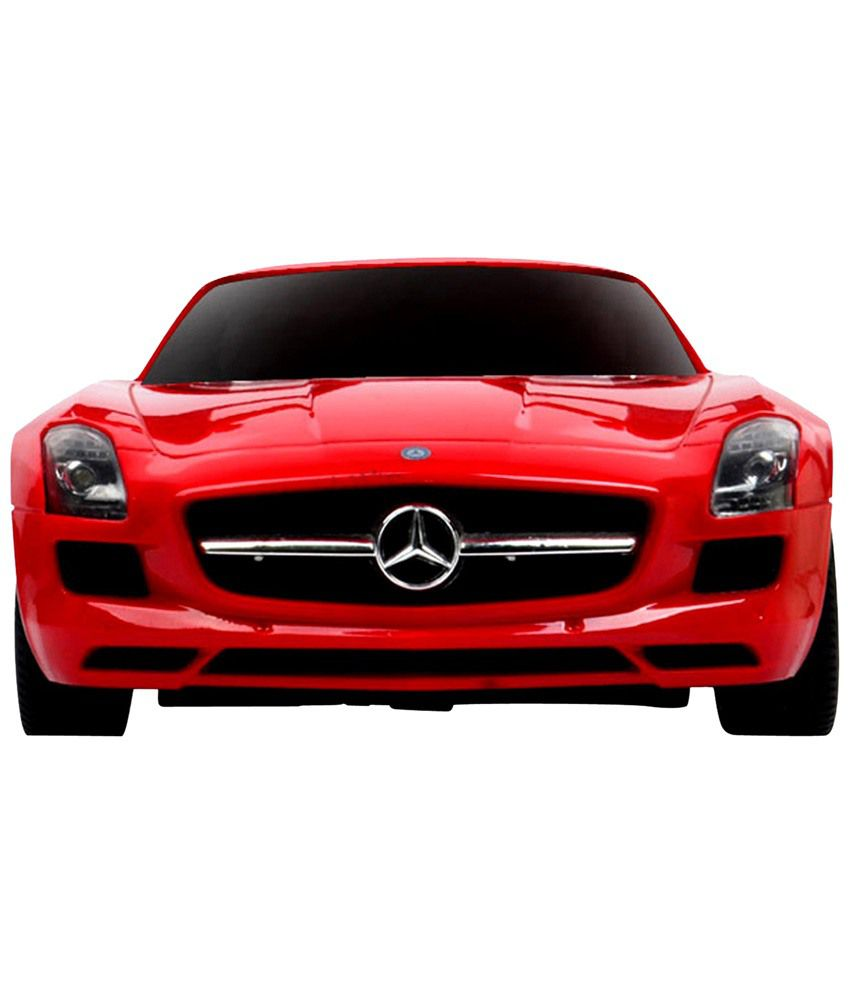 Delia baby radio remote control red 1 24 mercedes benz sls for Mercedes benz sls amg toy car