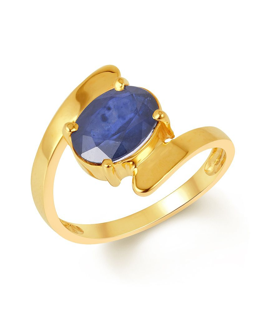 Kundali Contemporary 18kt Gold Sapphire Ring