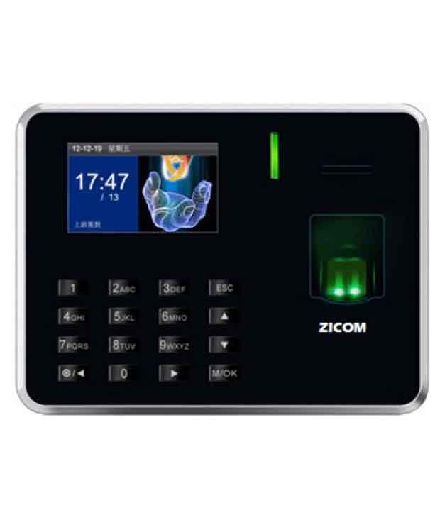 Zicom Black Plastic Biometric System
