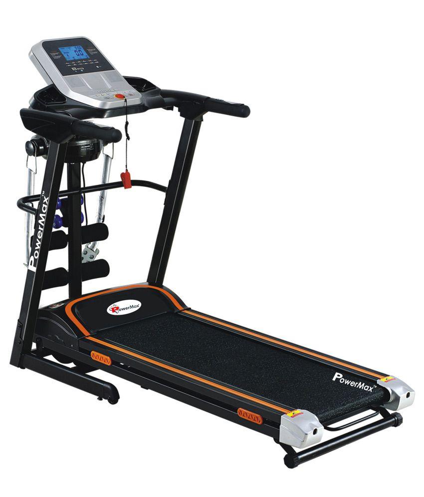 Powermax Fitness TDM-125 Multifunction Motorized Treadmill