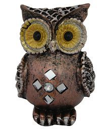 Divya Mantra Feng Shui Colourful Owl For Protection