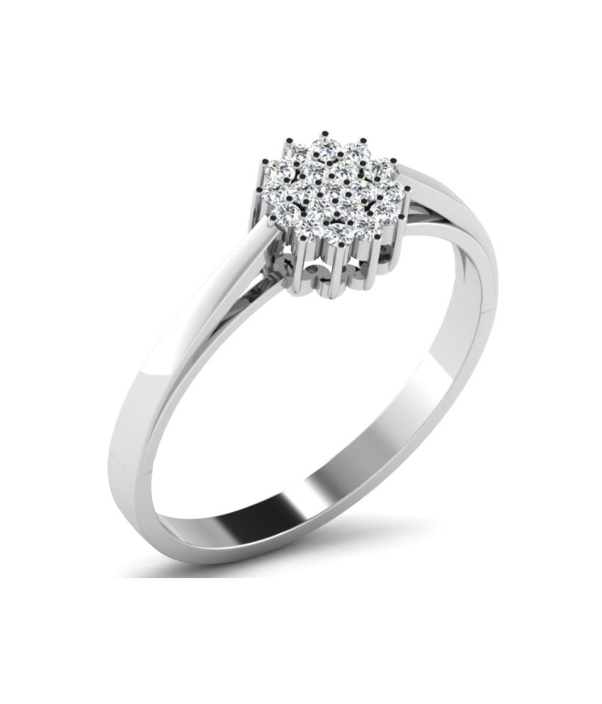His & Her 18kt Gold 0.13 Carat Diamond Ring