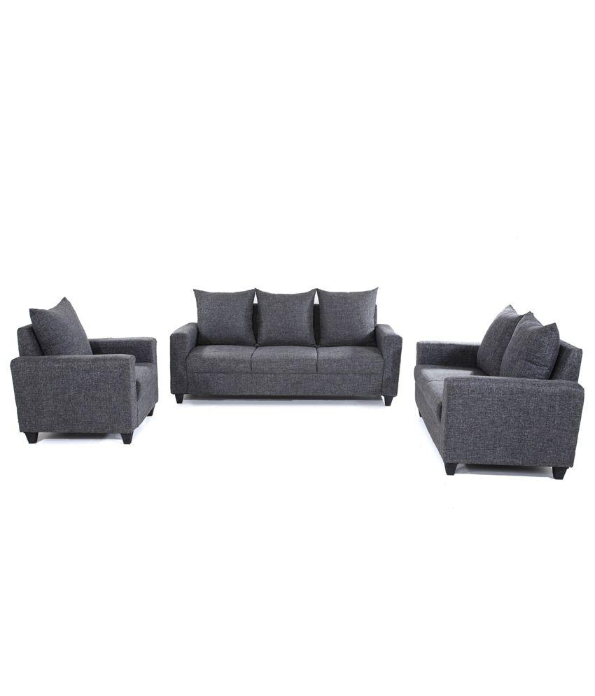 7bd62143985 Kayoto 6 Seater Sofa Set (3+2+1) - Buy Kayoto 6 Seater Sofa Set (3+2 ...