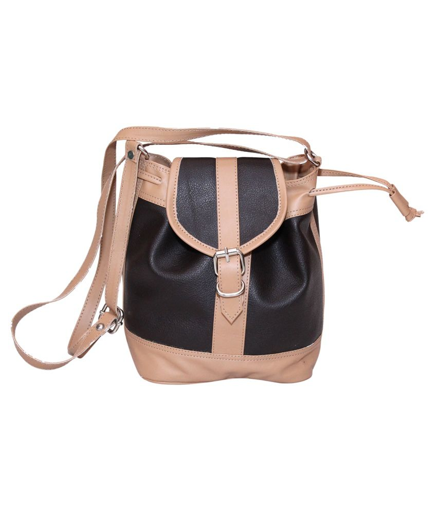 Essart Brown Sling Bag