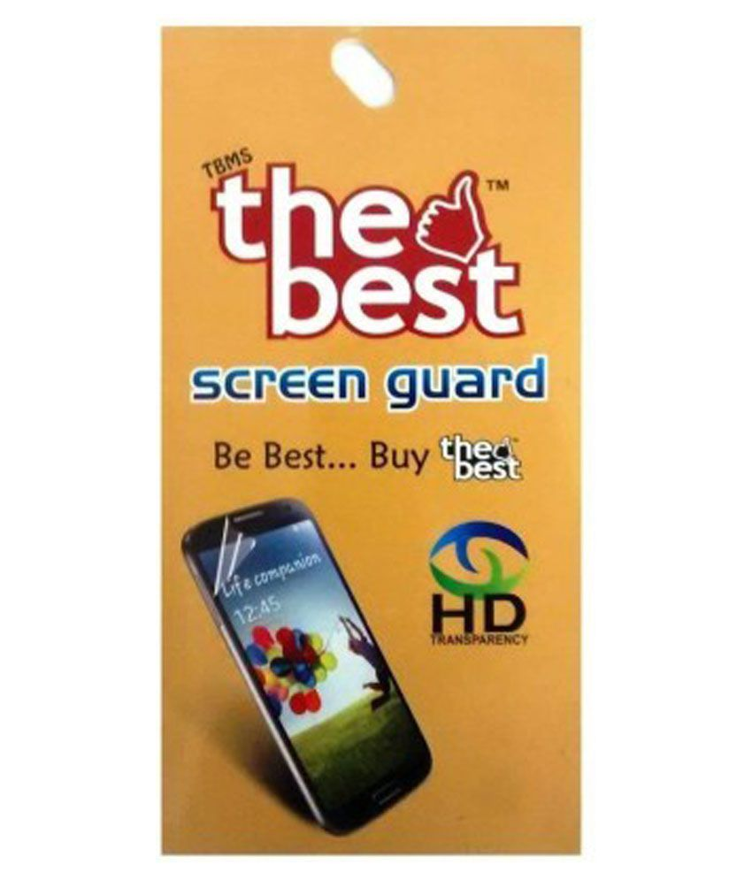 Intex Aqua Marvel Plus Clear Screen Guard by The Best