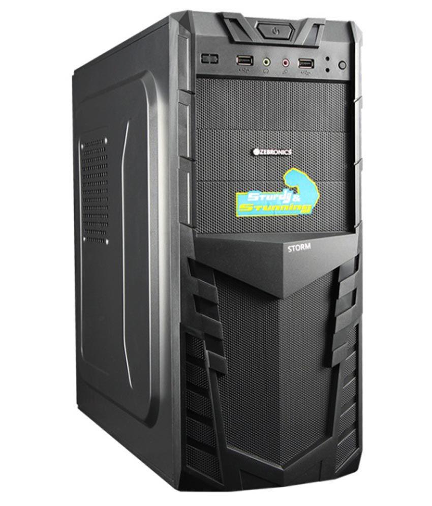 Zebronics Storm Cabinet Without Smps Zeb 516b Buy
