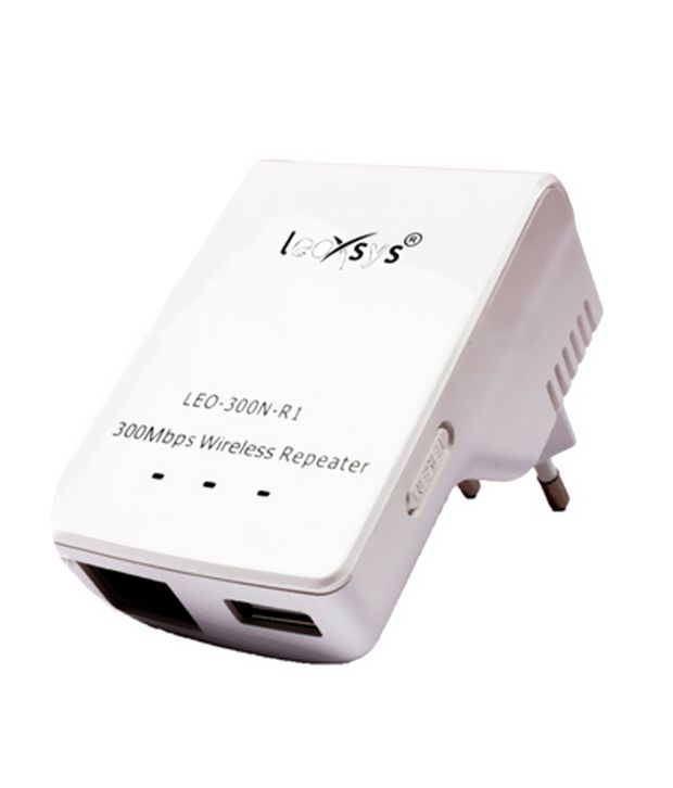 Leoxsys 300Mbps WiFi Repeater Wireless Range Extender booster