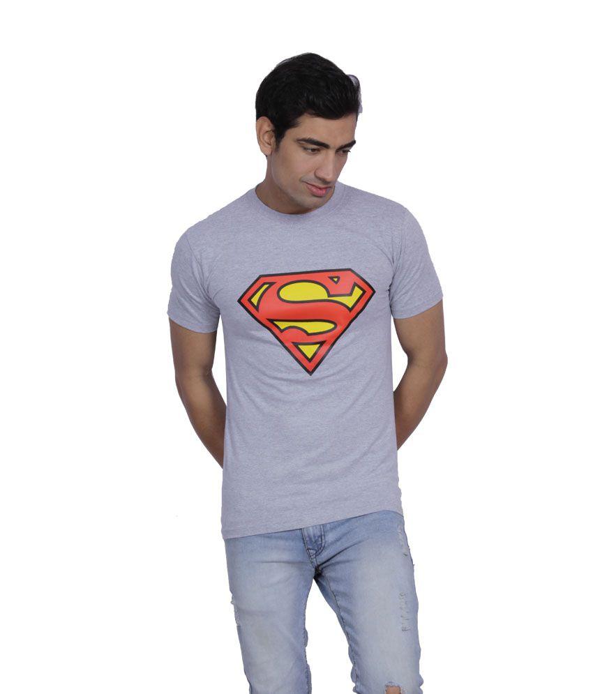 B2 Gray Cotton T-Shirt