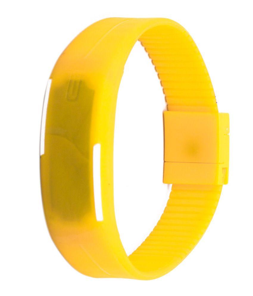 Jack Klein Yellow Automatic Watch