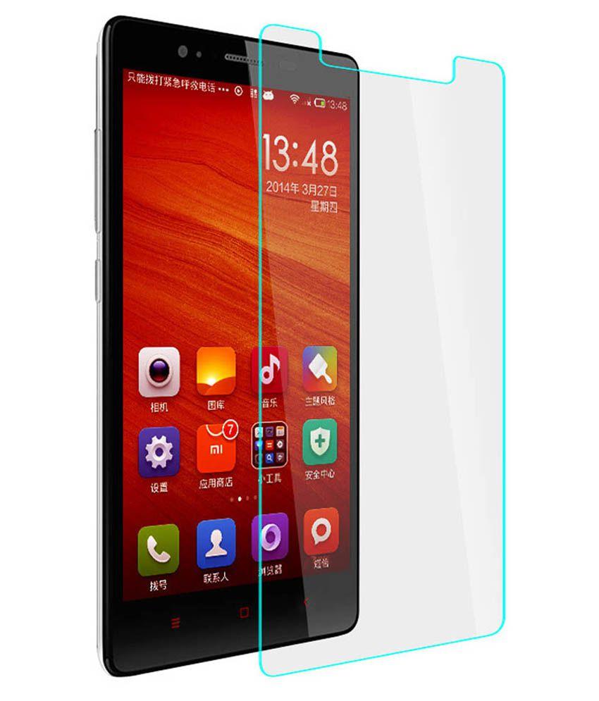 Xiaomi MI4i Tempered Glass Screen Guard by Uni Mobile Care