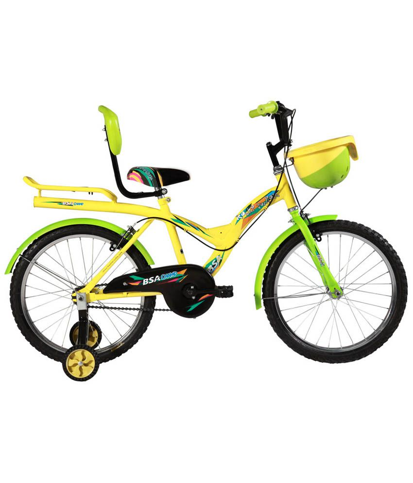 e729fe2d1bd BSA Rocky Green And Yellow Cycle (20 Inch) Kids Bicycle/Boys Bicycle/Girls  Bicycle: Buy Online at Best Price on Snapdeal