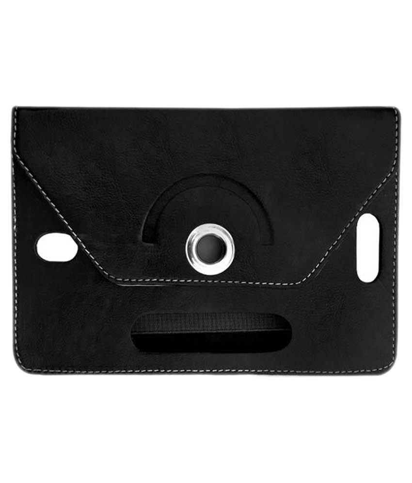 Fastway Flip Cover For Micromax Funbook Alpha P250 - Black