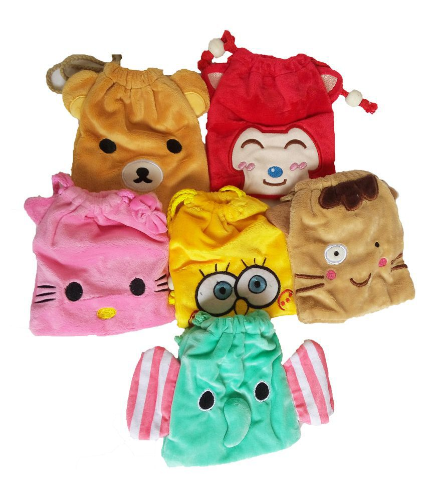 GoAppuGo Multicolor Potli Bags