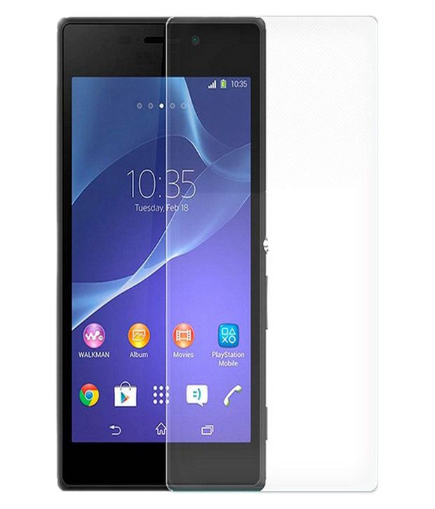 JNF Tempered Glass Screen Guard for 9H Xperia M2