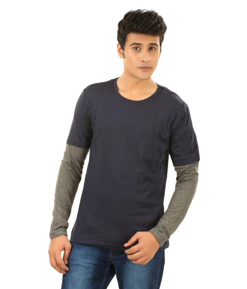 BrownBird Black Cotton T-Shirt
