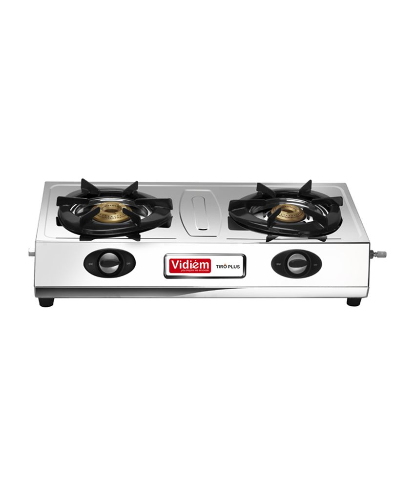 Vidiem Tiro Plus Gas Cooktop (2 Burner)