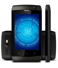 Karbonn A1+ Champ (3G) 512 MB Black