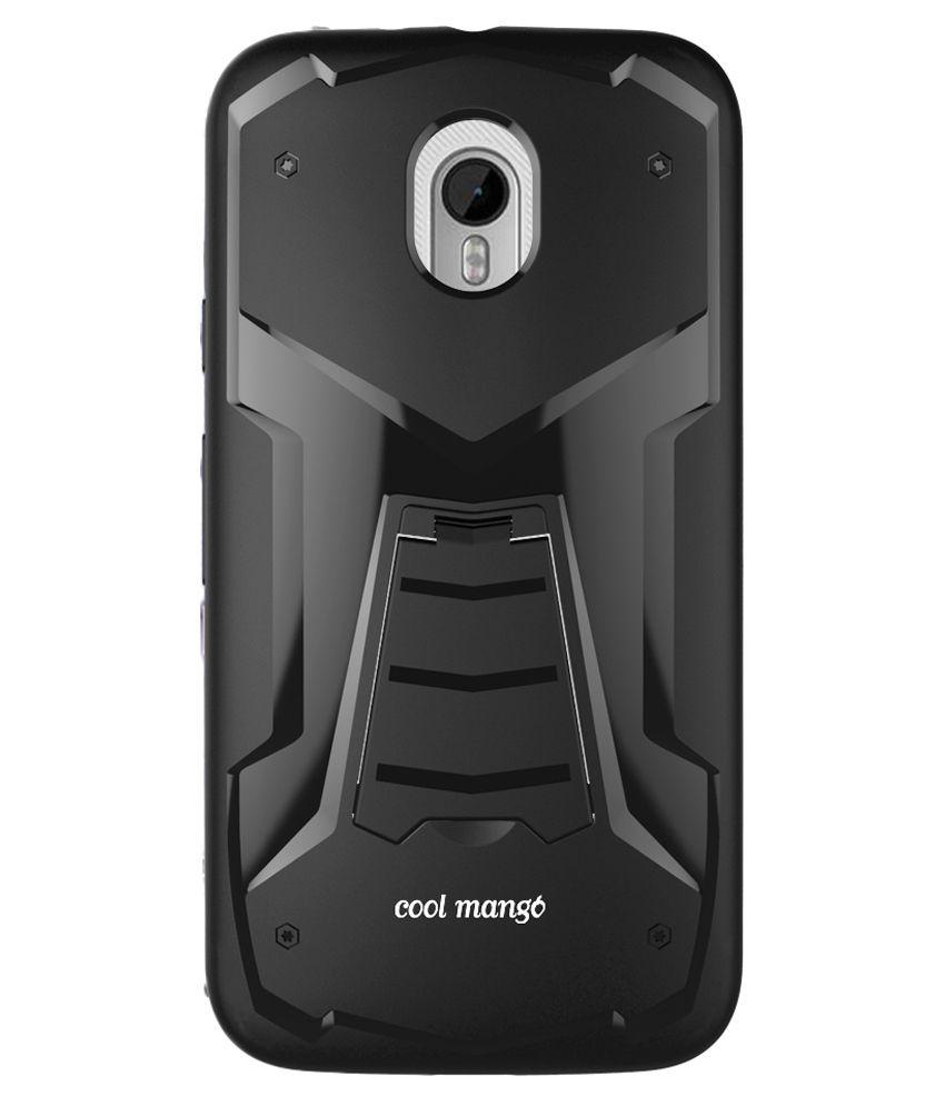 Cool Mango Designer Back Cover for Motorola Moto G3 - Black