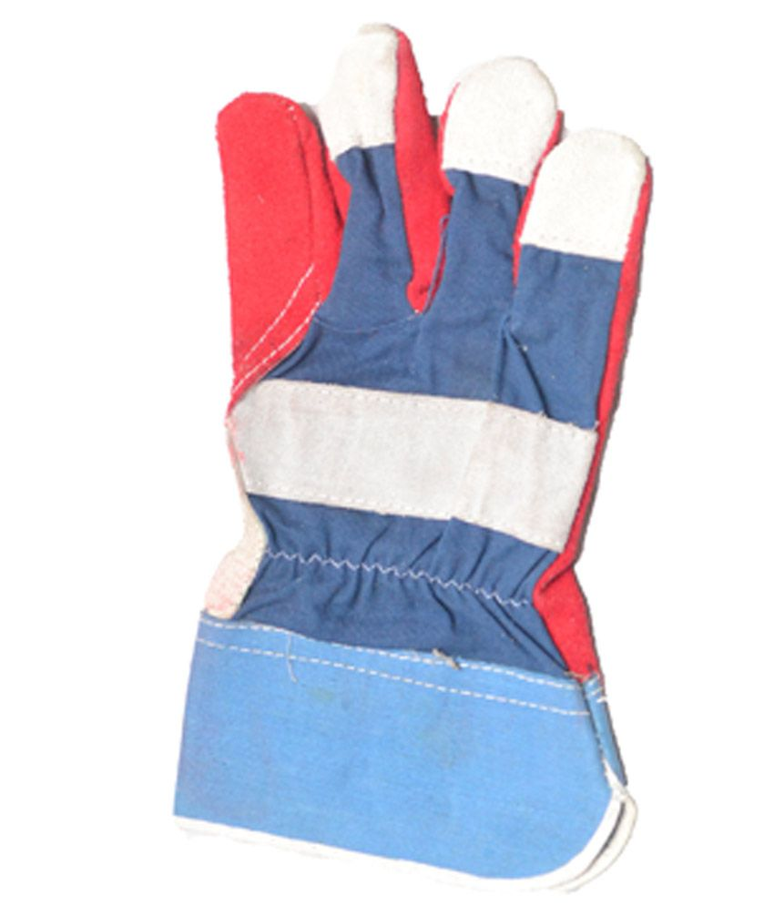 Buy leather hand gloves online india -  Globe Textured Leather Hand Gloves Pack Of 2