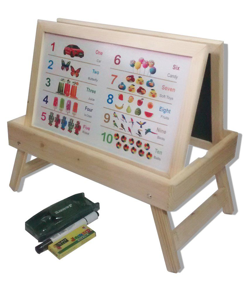 Goappugo 6 In 1 Kids Study Table Desk For Writing Learning