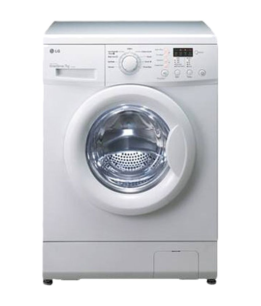 lg 6 kg f8091ndl2 fully automatic front load washing machine white price in india buy lg 6 kg. Black Bedroom Furniture Sets. Home Design Ideas
