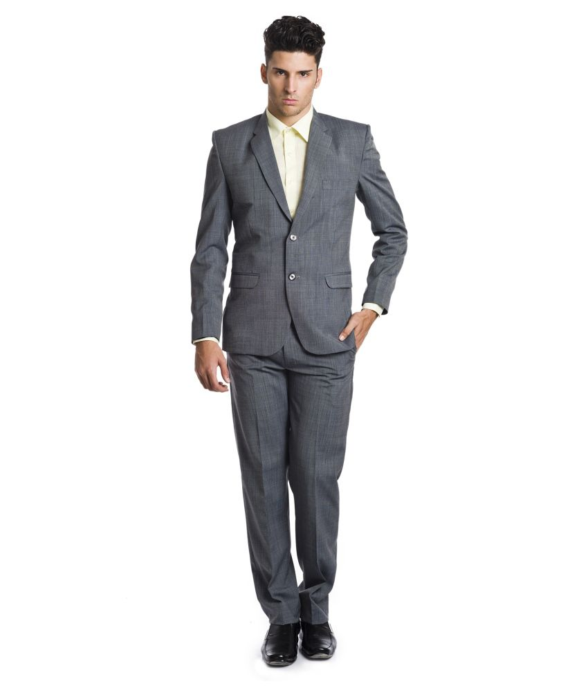 Wintage Gray Woollen Suits