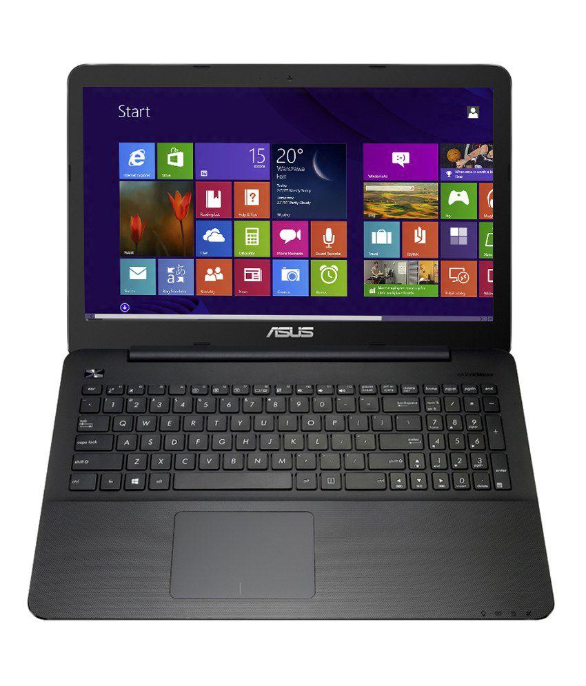 Asus X554LA-XX371H Notebook (90NB0658-M07360) (4th Gen Intel Core i3- 4GB RAM- 500GB HDD- 39.62 cm (15.6)- Windows 8.1) (Black)
