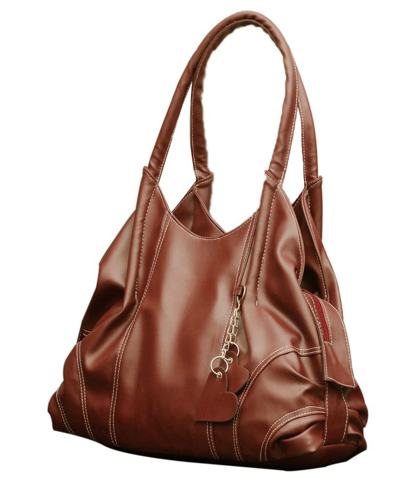 Fostelo Brown Shoulder Bag - Buy Fostelo Brown Shoulder Bag Online ...
