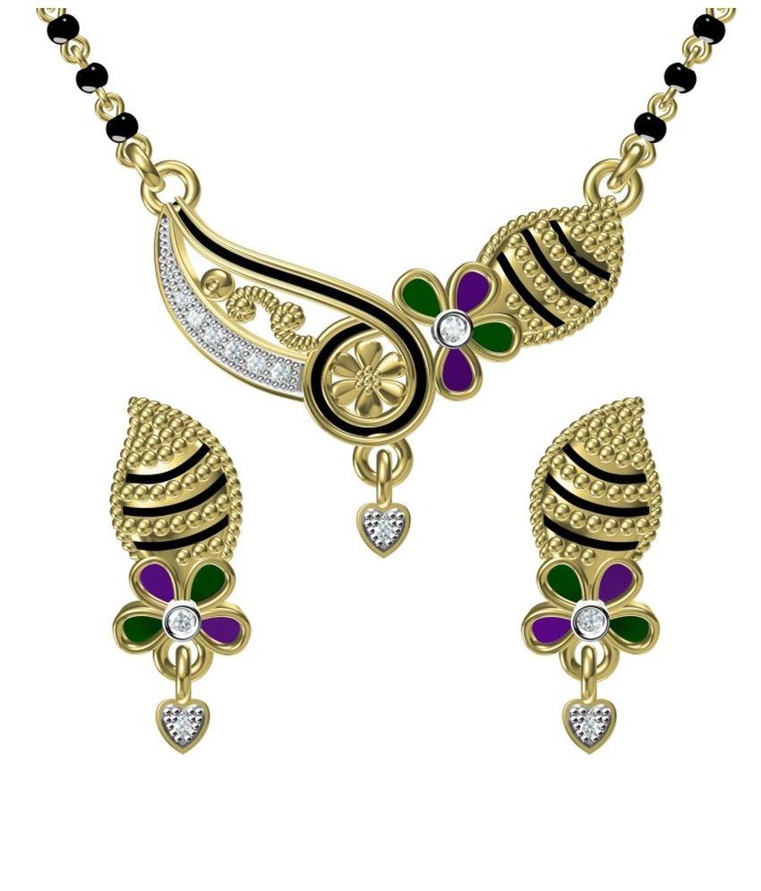 Ooh Gori Fashion Golden Mangalsutra Set