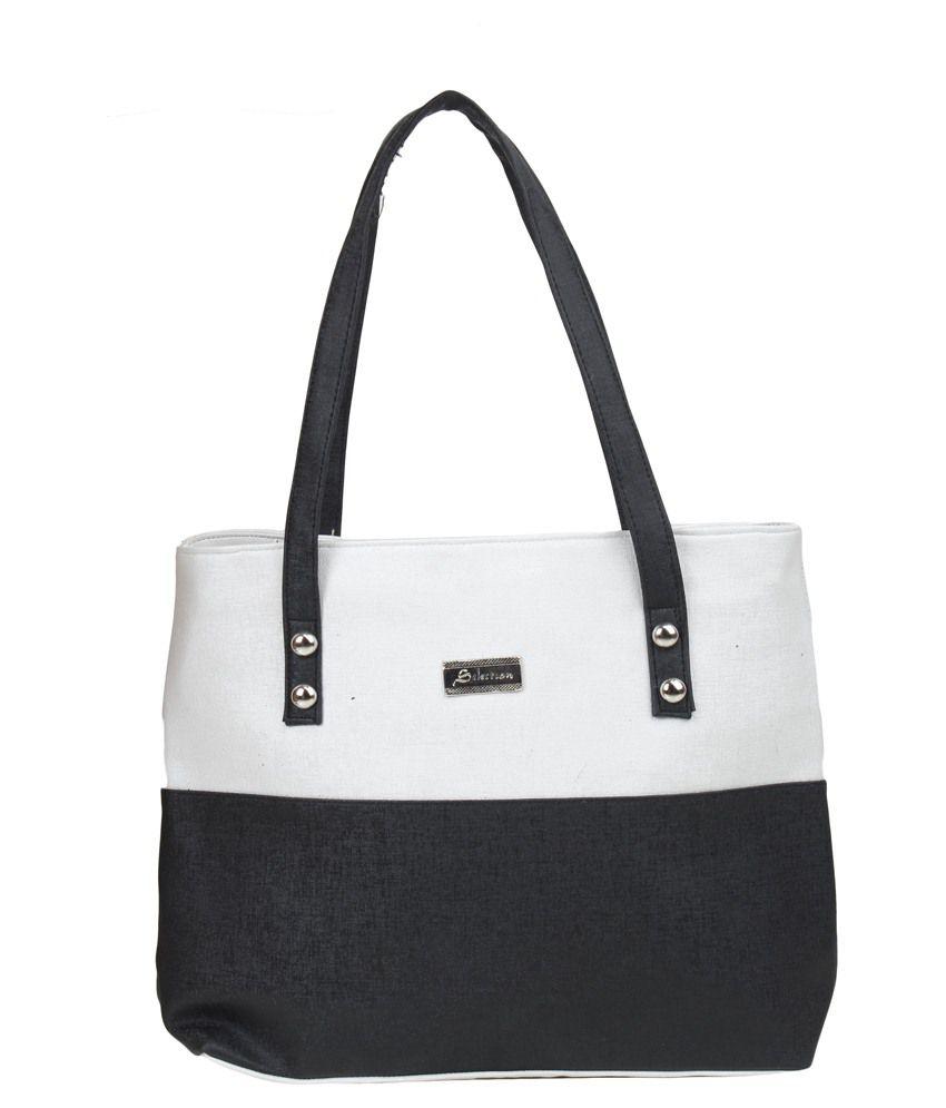 Trendz Deal Black P.U. Shoulder Bag