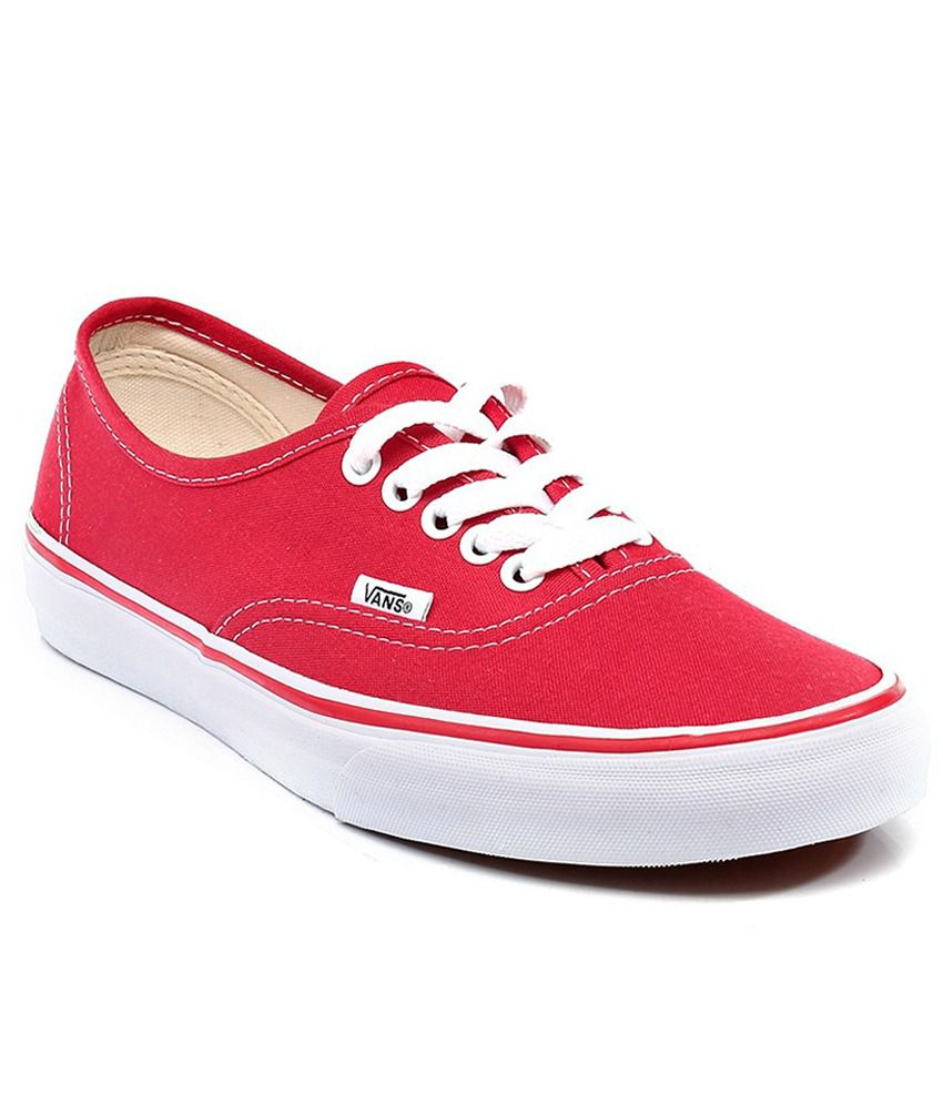 Vans Red Casual Shoes - Buy Vans Red Casual Shoes Online at Best Prices in  India on Snapdeal fc0aa0833