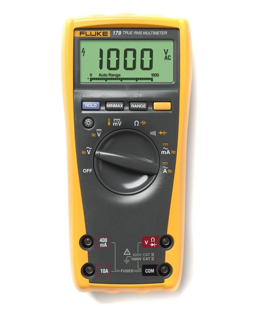 Multimeter At Walmart : Fluke digital measuring tools buy