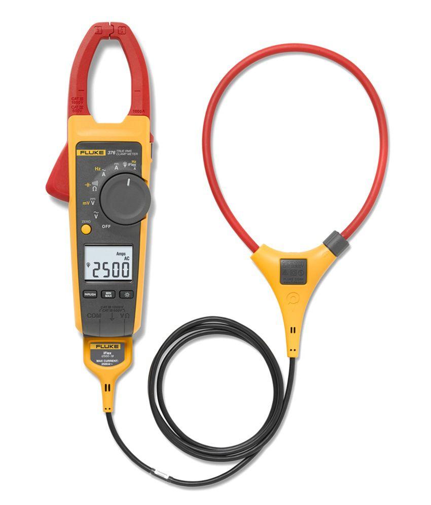 Fluke Digital Clamp Meter : Fluke digital clamp meter with iflex yellow buy