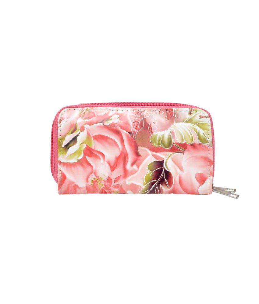 Hawai Pink Regular Wallet