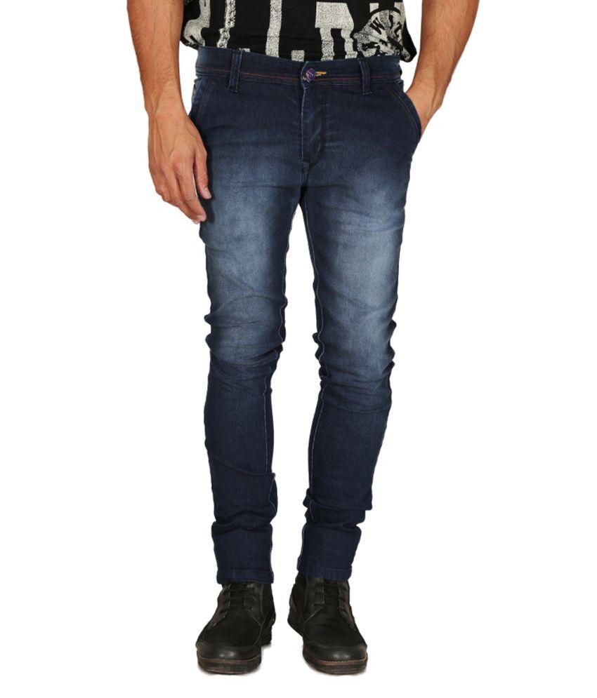 Mynte Blue Slim Fit Jeans