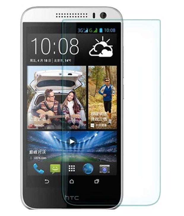 HTC Desire 616 Dual SIM Tempered Glass Screen Guard by Dajum