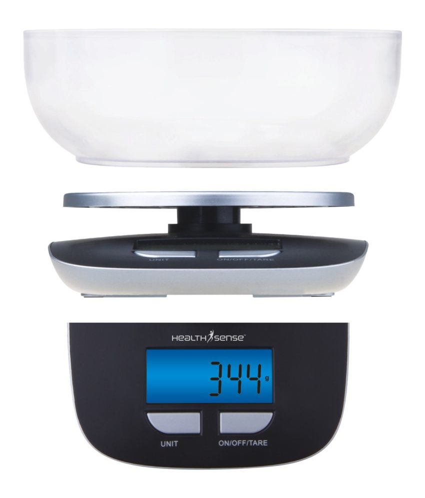 Healthsense Ks 33 5000g Digital Kitchen Weighing Scale