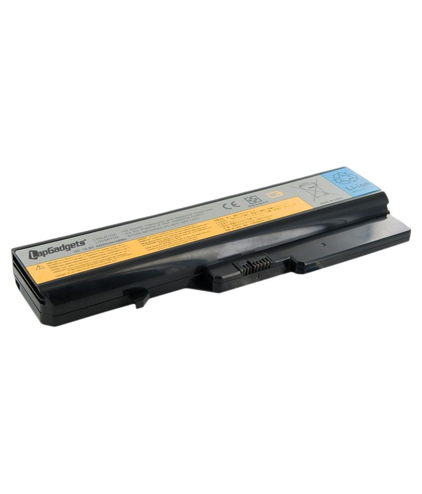 Lap Gadgets Li-on Laptop Battery for Lenovo Idea Pad G770 6 Cell